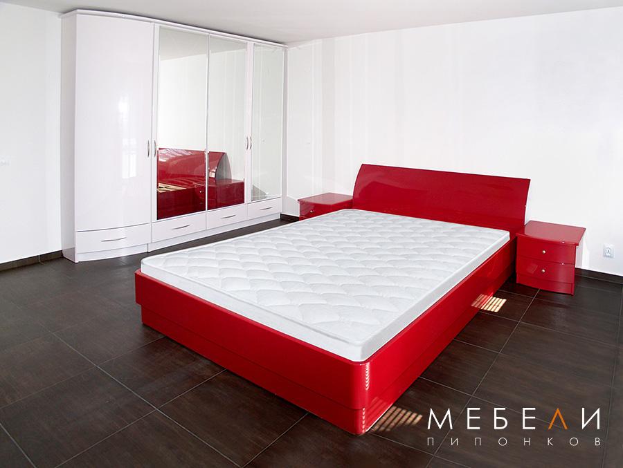 модерна спалня МДФ