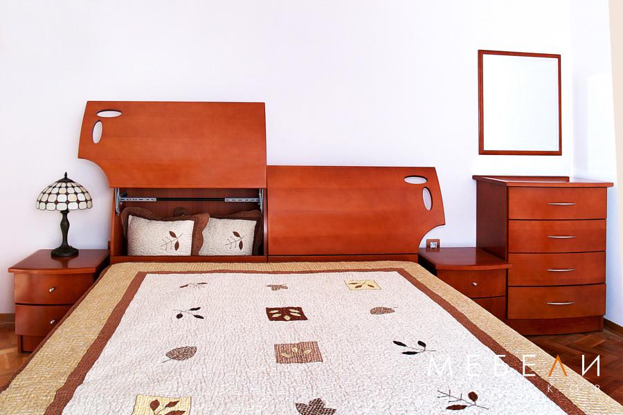 спалня МДФ фурнир
