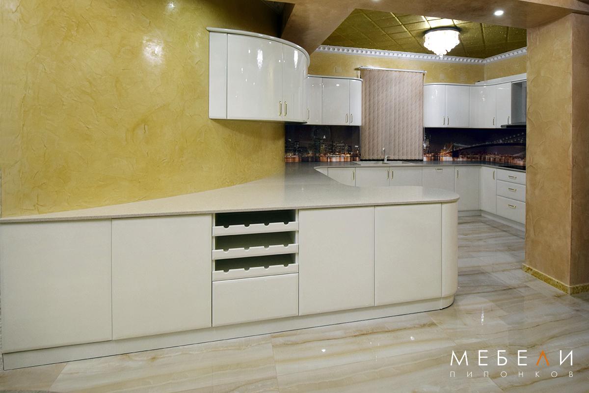 луксозна кухня по проект