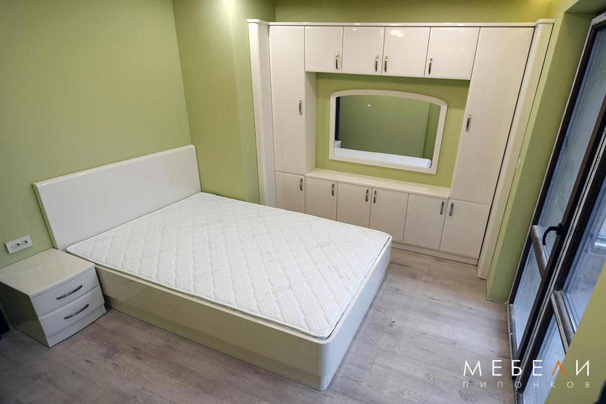 Спалня по индивидуален проект от МДФ